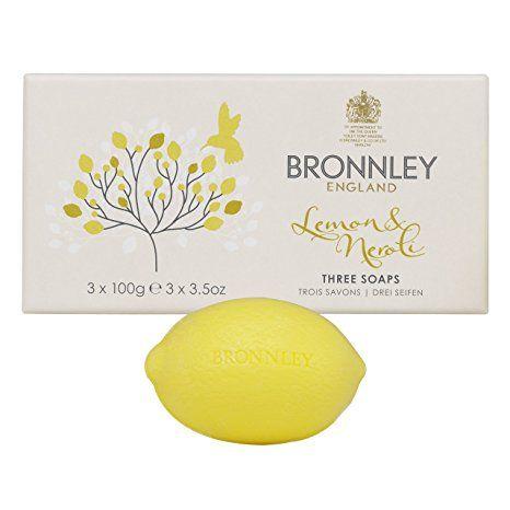 Bronnley England Lemon & Neroli Soaps for Women, 3.5 Ounce Review