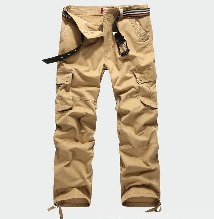 Faket New Arrival Men Military Cargo Pants Outdoors Overalls Plus Size Army Pants Cotton