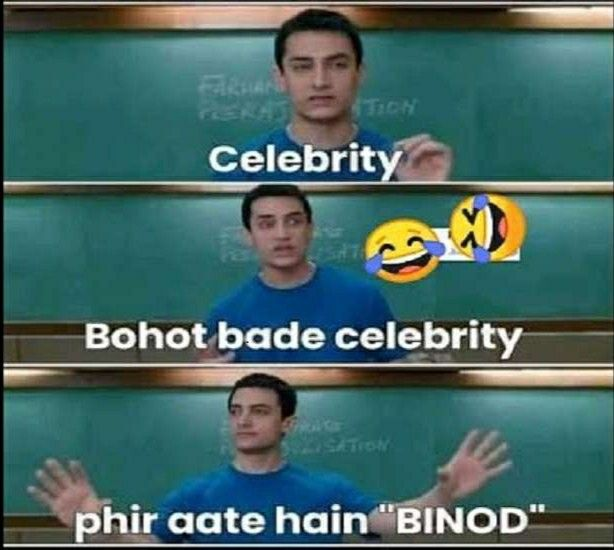 Ye Hai Binod In 2020 Fun Quotes Funny Funny Quotes Memes
