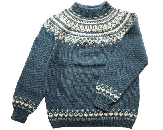 Childrens Vintage Skiing Skier Silhouette Sweater Baby Boys Pullover Sweaters