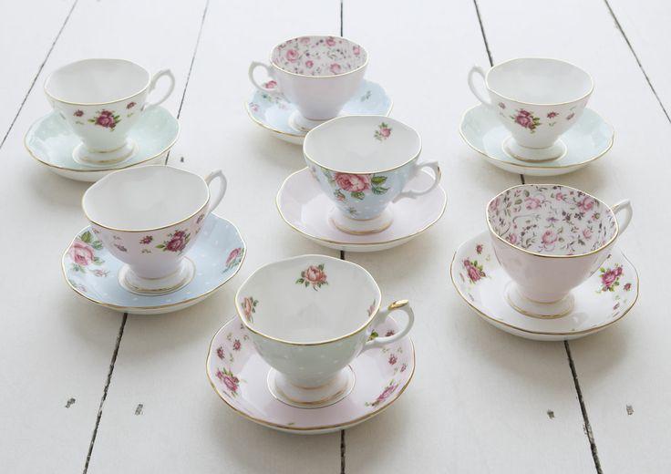 Royal Albert Teacup and Saucers, make the perfect gift