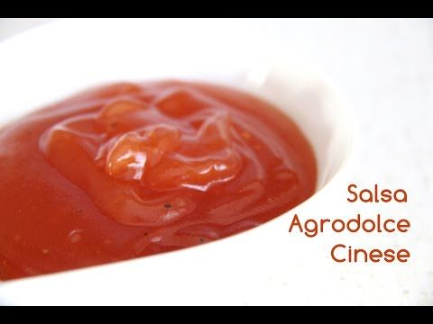 Salsa Agrodolce Cinese - Chinese sweet and sour sauce [sub eng] - YouTube