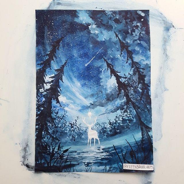 White stag of Terassen  Creds to elieenbahar-arts (Tumblr)