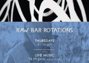 Raw Bar Rotations @ Raw Bar by Duncan Ly at Hotel Arts | Calgary | Alberta | Canada