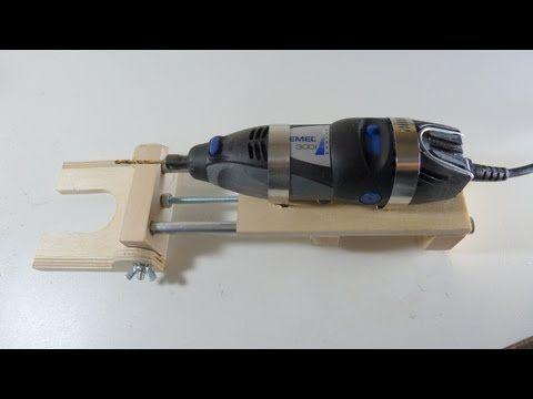 Rotary drill press, horizontal/vertical - YouTube