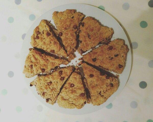 Chocolate Chip Gingerbread Scones Dessert taken from this website  wwwmamyshealthybaking.com