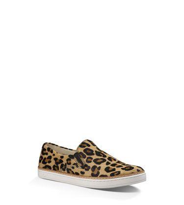 UGG® Official | Women's Keile Calf Hair Leopard Slip-On Sneakers | UGG.com
