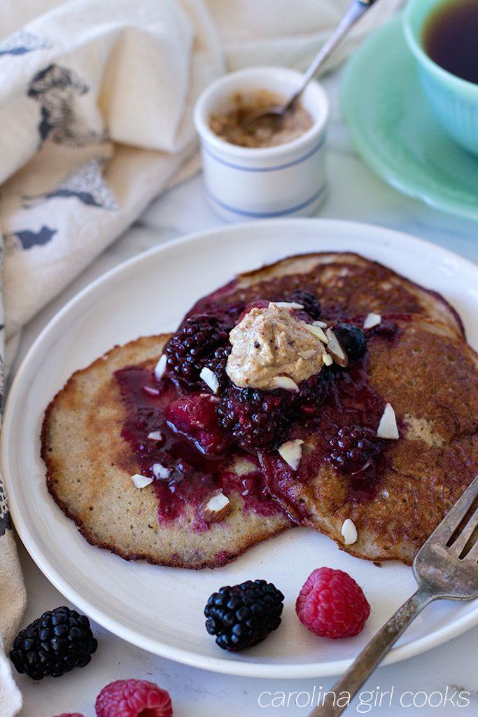 Banana Egg Pancakes - Whole 30 Recipe   KBStyled   Nashville Fashion Blog