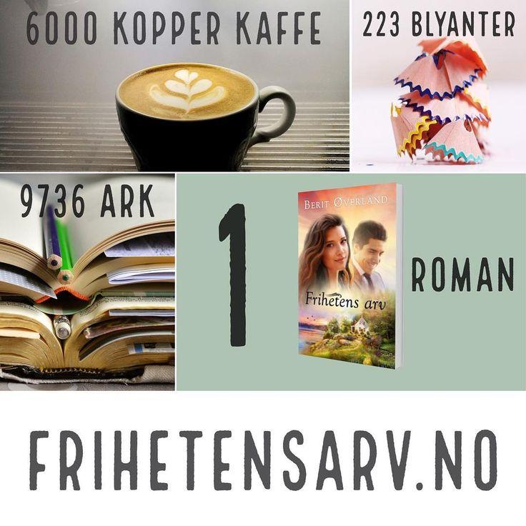 En roman blir til. What makes a novel? frihetensarv.no . . . . . #frihetensarv #roman #romanleser #lese #bok #bokleser #bøker #forfatter #kjærlighet #sommer #skriver #glede #writersofinstagram #sommertid #arbeid #sol #norge #coffeetime #kaffe #author #tro #jesuskvinner #jesus http://misstagram.com/ipost/1572506404462362238/?code=BXSqj5NAX5-