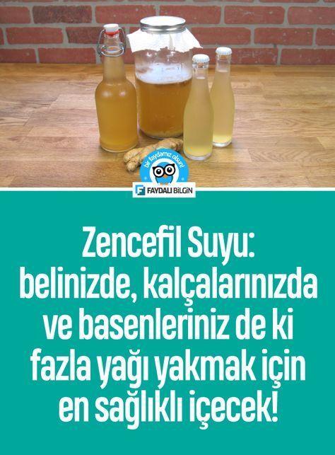 Zencefil Suyu: belinizde, kalçalarınızda ve basenleriniz de ki fazla yağı yakmak için en sağlıklı içecek! - Faydalı Bilgin