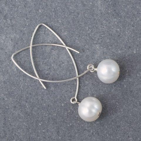 Classified Pearl Earrings