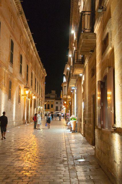 Ciutadella Street - Menorca, Spain
