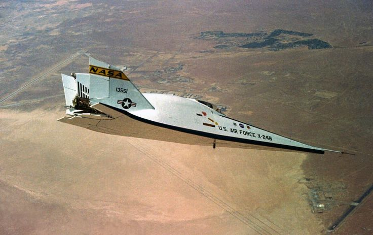 Boom! NASA Wants to Bring Back Supersonic X-Planes | The X-24B was one of a series of planes designed to investigate how spacecraft could handle reentry into Earth's atmosphere.  | Credit: NASA | From Wired.com