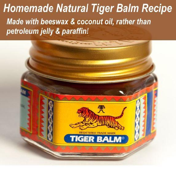 Homemade 100% Natural Tiger Balm Recipe