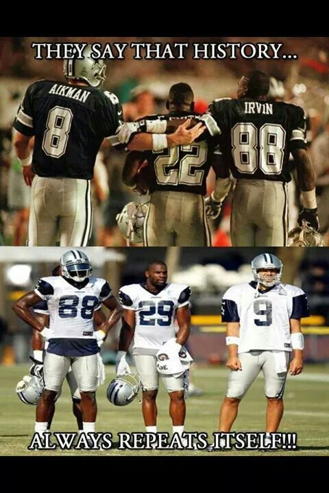 Dallas Cowboy history then and now!!!
