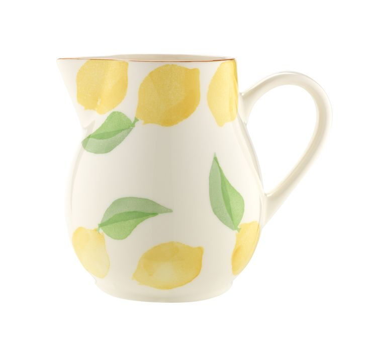 This painterly earthenware jug is just asking to be filled with iced water and lemon slices on a sunny day. Priced at £12.