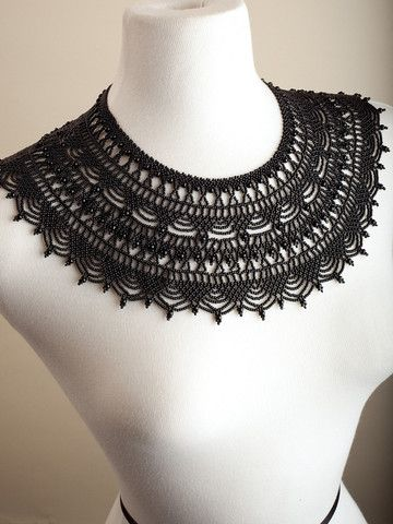 Carmelita's Bella Necklace - Black | IFAM | Online