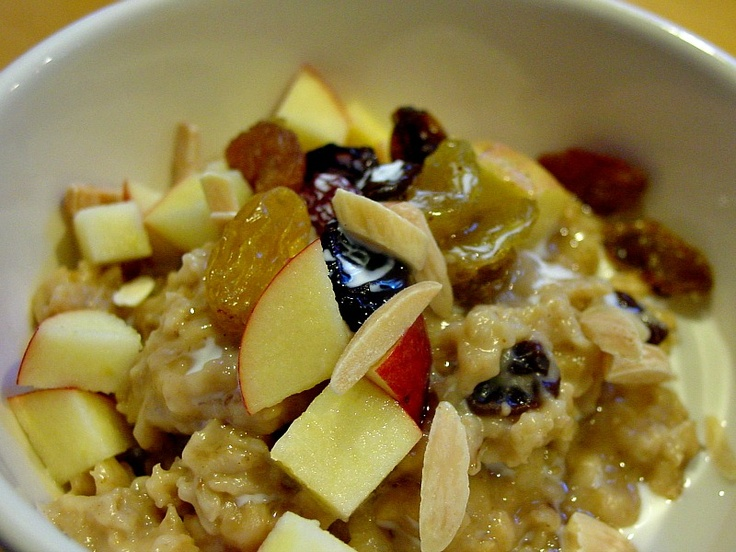 The Unfussy Epicure: Creamy Peanut Butter and Maple Oatmeal ...