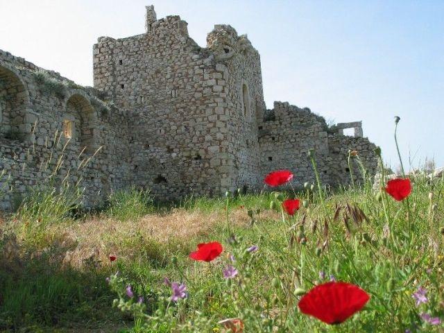 Samos,Pythagorion castle