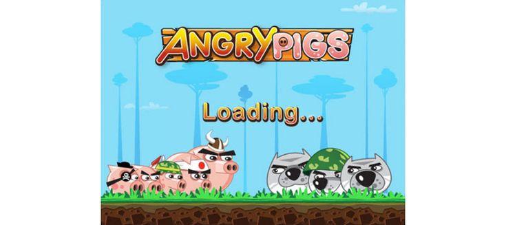 Angry Pigs, el Angry Birds de los usuarios de BlackBerry.