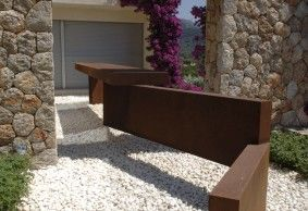 escultura acero corten restoration in historical buildings pinterest