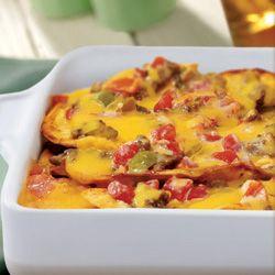 Recipe Source:  Kraft Foods Inc.  Velveeta is a brand of Kraft Foods Inc. Use real cheese instead of Velveeta1