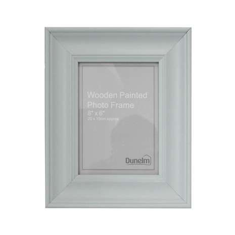 Duck Egg Painted Wooden Frame | Dunelm