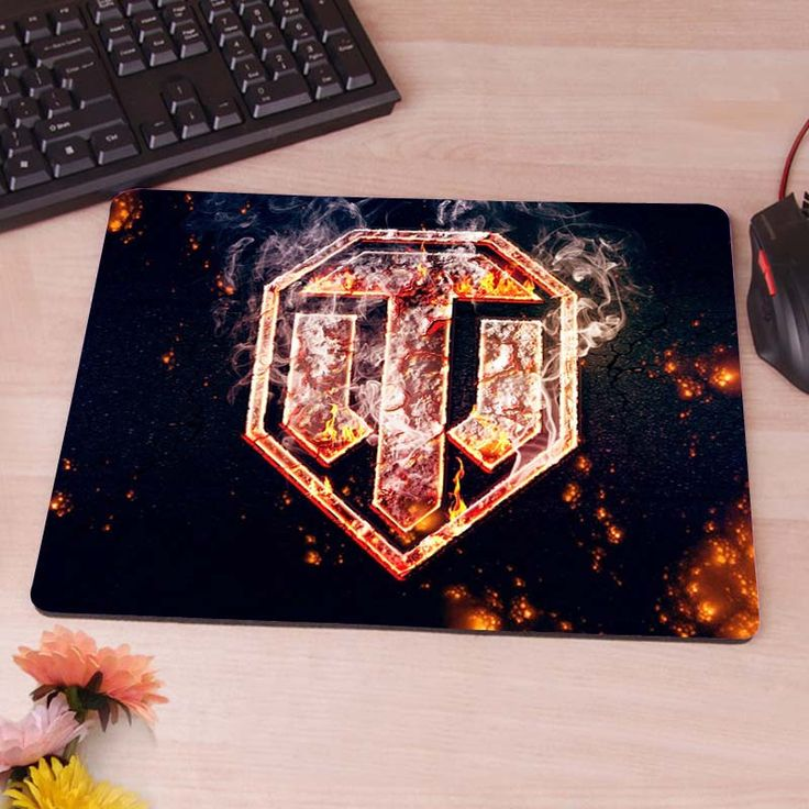 World of tanks mouse pad Fire logo Slim Mouse Pad Pads Speed Up Mat Mousepad