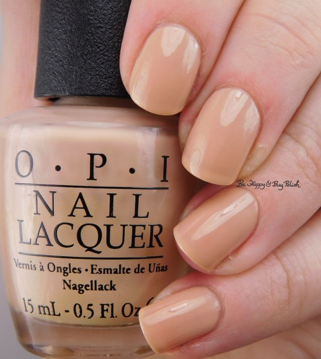 OPI Samoan Sand | Be Happy And Buy Polish https://behappyandbuypolish.com/2017/02/25/opi-samoan-sand-make-light-of-the-situation/