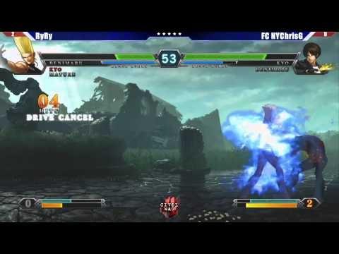 King of Fighters XIII - Civil War 4 Tournament Grand Finals: RyRy vs ChrisG #KOFXIII