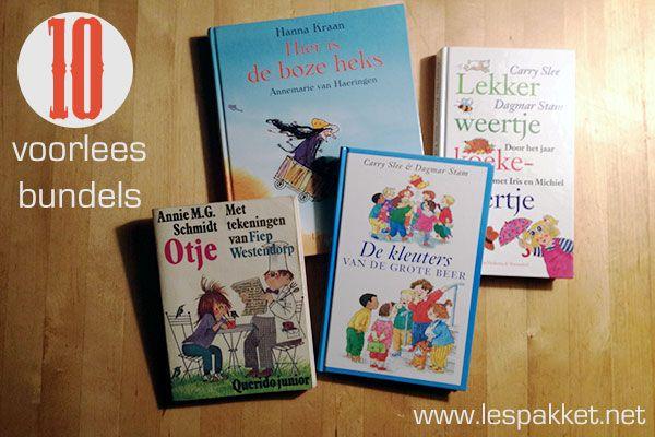 Voorlezen: 10 voorleesbundels - Lespakket - thema's, lesideeën en informatie - onderwijs aan kleuters