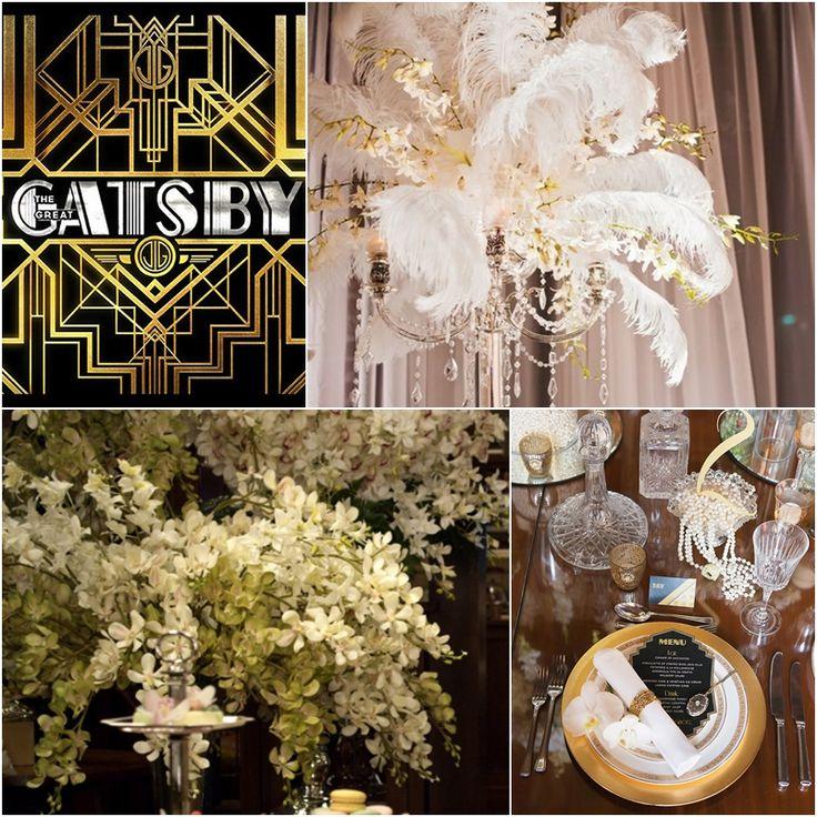 Great Gatsby Wedding Ideas   Great Gatsby Decorations The ...