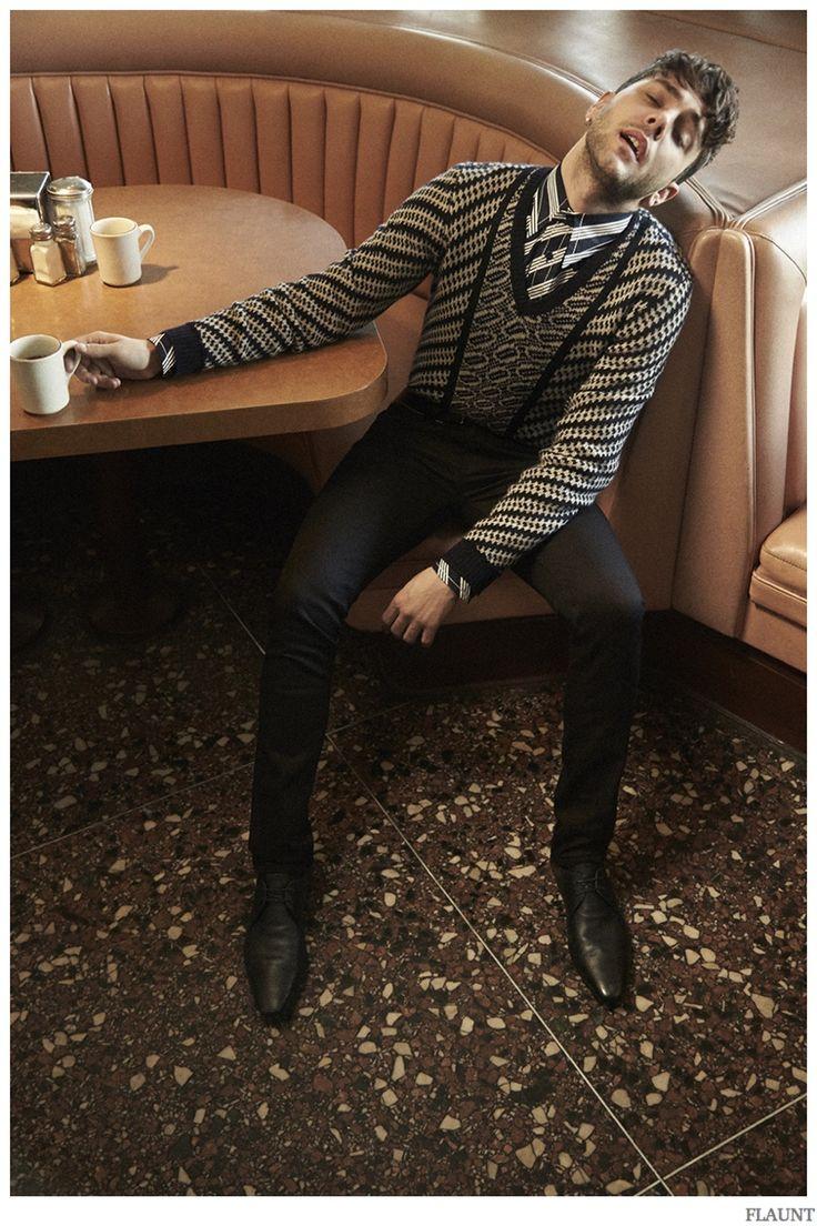 Xavier Dolan Poses for Flaunt Shoot, Talks Perfection image Xavier Dolan Flaunt 2014 Photo Shoot 007
