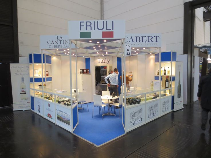 Prowein - Düsseldorf: CABERT. Ricerca, analisi, promozione e comunicazione. Progettazione e realizzazione dell'allestimento dello stand. Photo by honegger