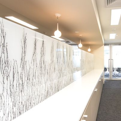 Project: Eyemedics Wayville Practice  Designer: Maria Gianquitto Product Vineyard Screen Colourbacked in White