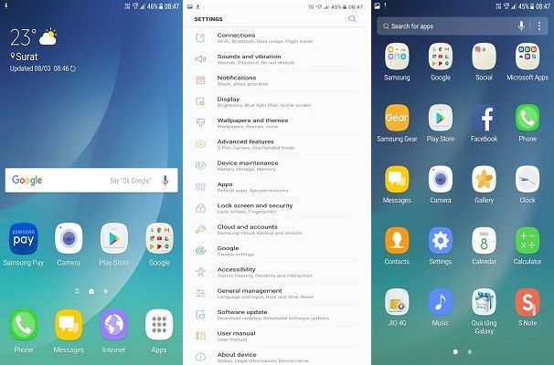Galaxy S6 [ROM]FastRom Nougat V1.0 full Nougat Ported | Rom-Firmware Dünyası