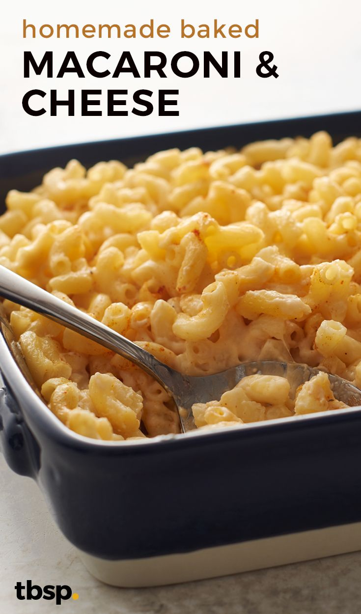 This creamy, cheesy baked macaroni and cheese is a true crowd pleaser! This southern-inspired comfort food packs a home-style flavor that both kids and adults will love.
