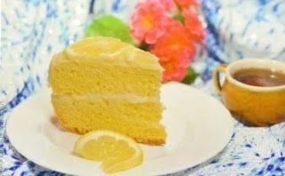 Dessert recipes: Lemon cake