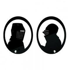 Porta Chaves Cavaleiros Medievais - Fábrica Geek