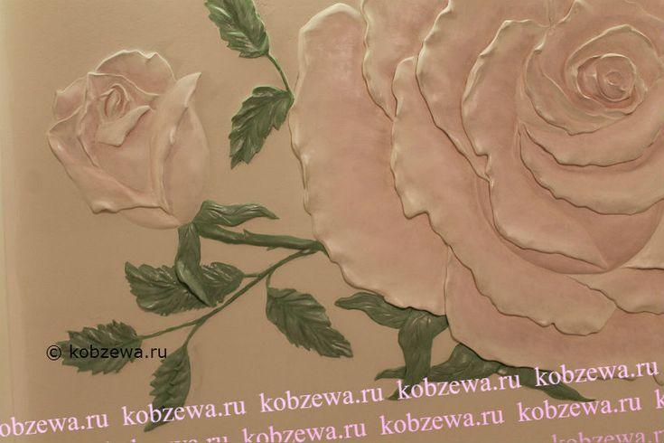 художественная роспись лепниной