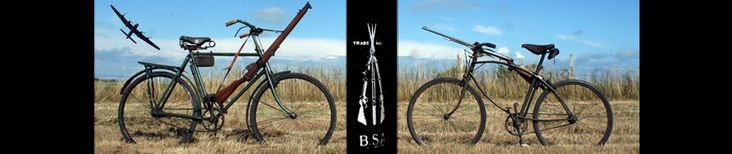 Bianchi Military Folding Bicycle 'Model 1912′ | The BSA & Military Bicycle Museum