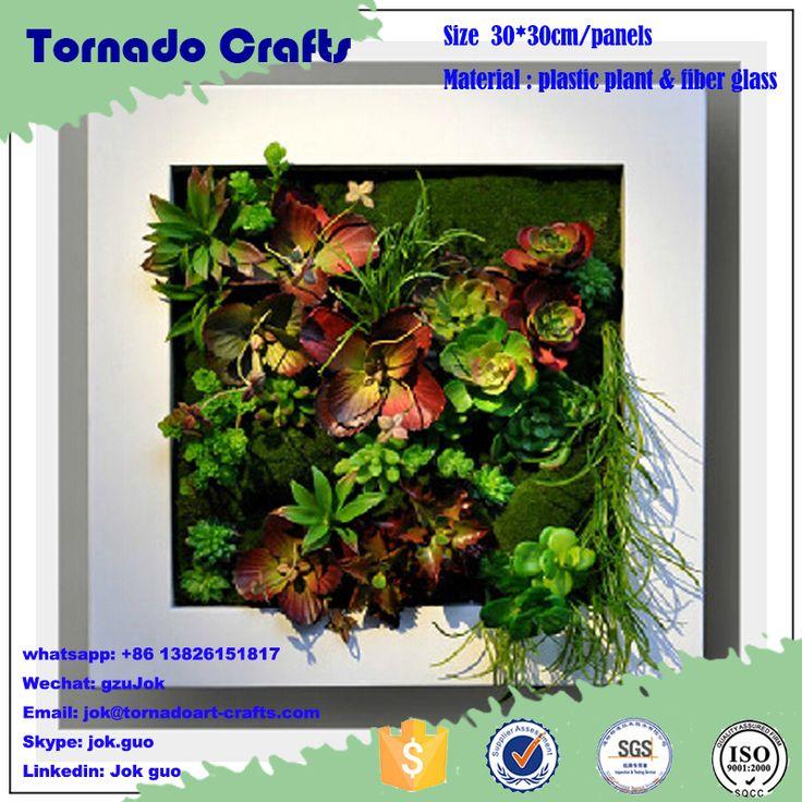 2017 Tornado Crafts Wholesale mini artificial plant wall/mini artificial green wall hanging artificial wall