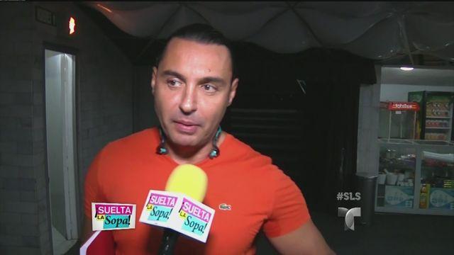 Latin Lover habla de los tamaños en su cuerpo (VIDEO)