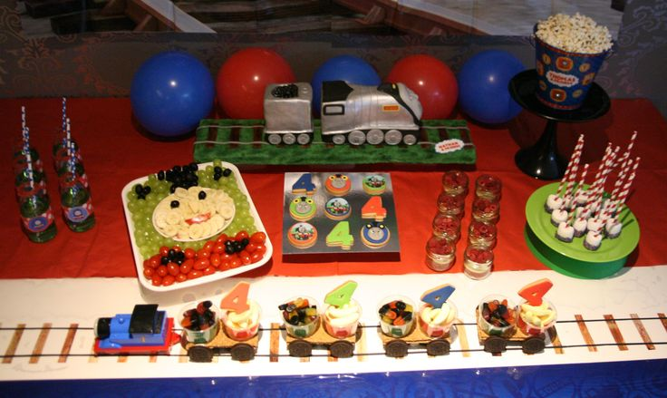 Thomas Train Sweet Table - Thomas de Trein tafel