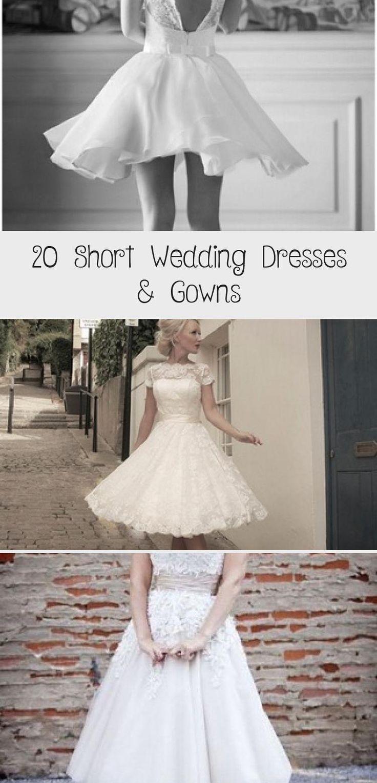 My Blog In 2020 Short Wedding Dress Wedding Dresses Short Bridal Gown [ 1530 x 736 Pixel ]