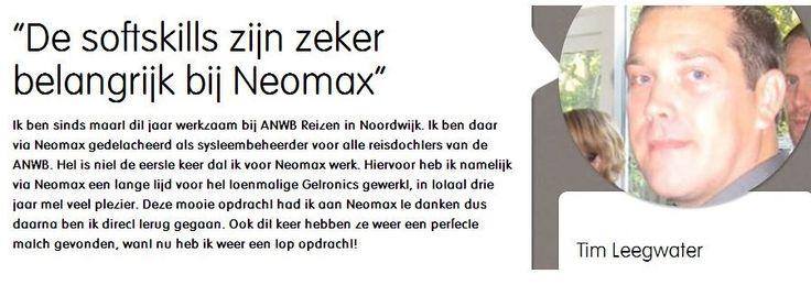 Tim vertelt over zijn 3xBLIJ ervaring bij neomax; http://neomax.nl/3xblij/de-softskills-zijn-zeker-belangrijk-bij-neomax/