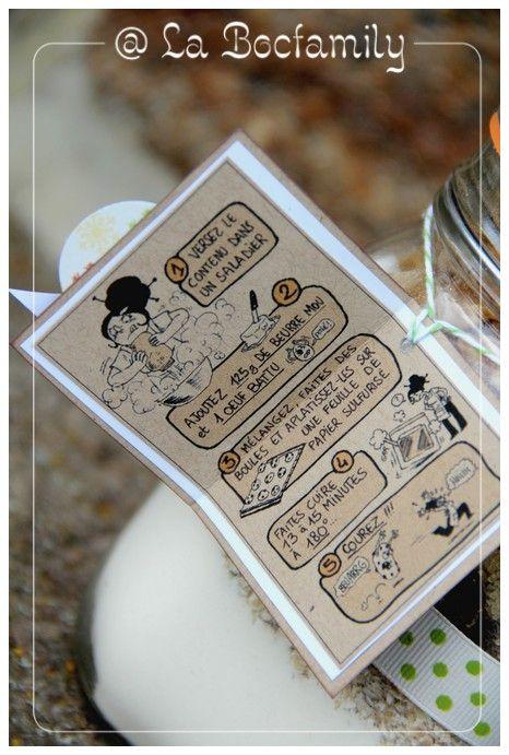 Cadeau de fin d'année pour les maitresses : SOS Cookies - La Bocfamily