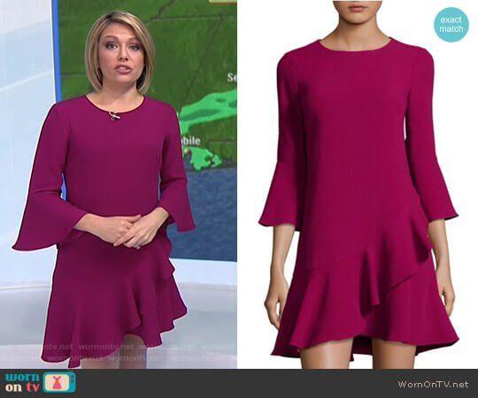 Dylan grey color block dresses
