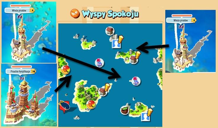 Wyspy Spokoju – Wieże http://wp.me/p2QwhS-Be #piratessaga