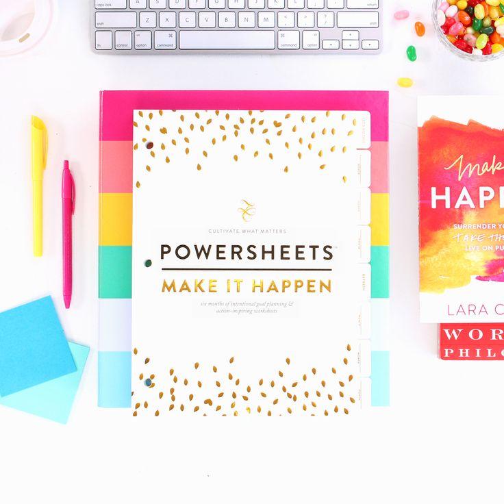 Lara Casey's Powersheets | Emily Ley